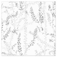 Wall Vision Bladranker Botanical Wallpaper in Grey