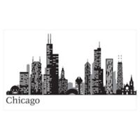 WallPops!® Chicago Cityscape Wall Art Kit