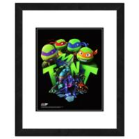 Teenage Mutant Ninja Turtles 22-Inch x 26-Inch Framed Photo Wall Art