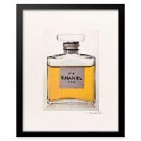 Fairchild Paris Golden Chanel No. 5 Ad Print Wall Art
