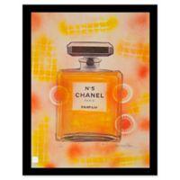 Fairchild Paris Orange Chanel No. 5 Ad Print Wall Art