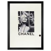 Fairchild Paris Brigitte Bardot 12-Inch x 10-Inch Framed Wall Art