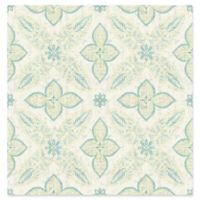 A-Street Prints Off Beat Ethnic Geometric Wallpaper in Turquoise