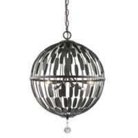Filament Design Olea 6-Light Pendant Light in Bronze