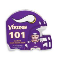 NFL Minnesota Vikings 101 Children's Board Book