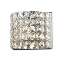 Filament Design 1-Light LED Vanity Light in Chrome
