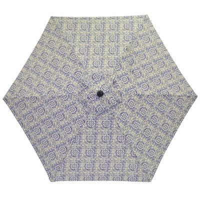 7 5-Foot Round Replacement Canopy Umbrella in Blue Block
