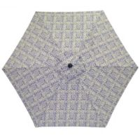 7.5-Foot Round Replacement Canopy Umbrella in Blue Block