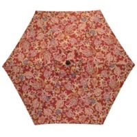 7.5-Foot Round Replacement Canopy Umbrella in Jacobean Red