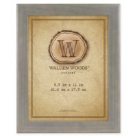 MCS Walden Woods Retreat 8.5-Inch x 11-Inch Frame in Grey