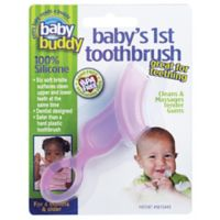 Baby Buddy® Baby's First Toothbrush in Pink