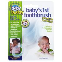 Baby Buddy® Baby's First Toothbrush in Clear