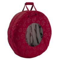 Classic Accessories® Seasons Medium Wreath Storage Bag in Cranberry