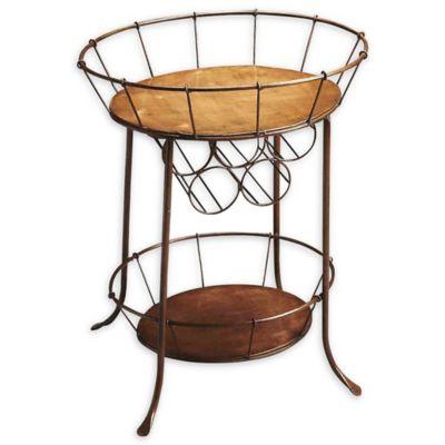 Rucker Metal 2-Tier Oval Wine Storage Table in Antique Bronze  sc 1 st  Bed Bath u0026 Beyond & Buy 5-Tier Storage from Bed Bath u0026 Beyond
