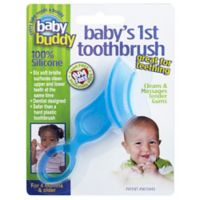 Baby Buddy® Baby's First Toothbrush in Blue