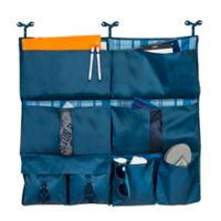 Honey-Can-Do® 2-in-1 Bed Organizer in Blue