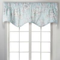 Ellis Aquarius Scallop Window Valance in Light Blue