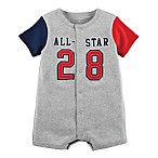 carter's® Newborn Snap-Up All-Star Romper in Grey