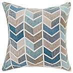 Make-Your-Own-Pillow Arrie Square Throw Pillow Cover in Blue