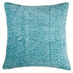 Make-Your-Own-Pillow Melemele Square Throw Pillow Cover in Teal