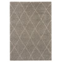 Balta Home Trenton 7'10 x 10' Area Rug in Grey/Cream