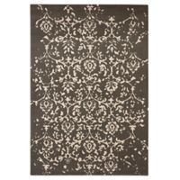 Echelon 7'10 x 10' Area Rug in Black/Cream