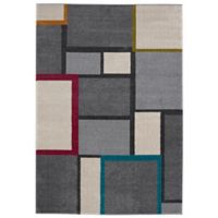 Balta Home Haledon 7'10 x 10' Area Rug in Grey