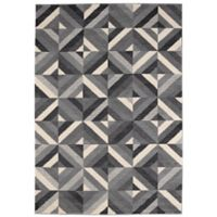 "Balta Home Rumson 5' 3"" x 7' 6"" Area Rug in Black/White"