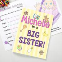 Big Sister/Brother Coloring Activity Book and Crayon Set