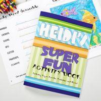Super Fun Coloring Activity Book & Crayon Set