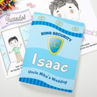 Ring Security Coloring Activity Book and Crayon Set