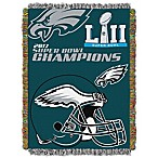 SB52 Eagles Champs 48x60 Tapestry Throw