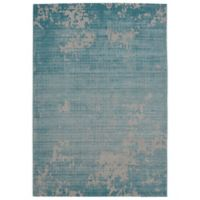 Balta Home Lakewood 7'10 x 10' Indoor/Outdoor Area Rug in Teal/Cream