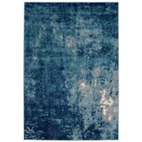 Balta Home Passaic 7'10 x 10' Area Rug in Blue/White