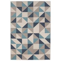 Balta Home Paterson 7'10 x 10' Area Rug in Navy/Light Blue