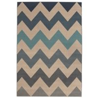 Balta Home Hillsdale 5'3 x 7'6 Area Rug in Blue
