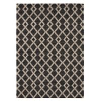 Balta Home Waldwick 5'3 x 7'4 Area Rug in Dark Grey/Cream