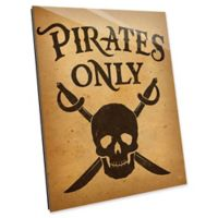 Astra Art Pirates Only 14-Inch x 11-Inch Acrylic Wall Art