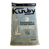 Kirby 3 Pack Vacuum Cleaner Style 1 Bags