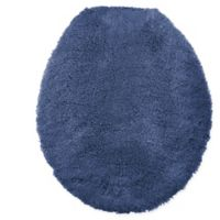 Wamsutta® Ultra Fine Reversible Toilet Lid Cover in Denim Blue