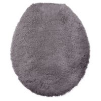 Wamsutta® Ultra Fine Reversible Toilet Lid Cover in Charcoal
