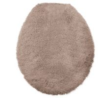 Wamsutta® Ultra Fine Reversible Toilet Lid Cover in Taupe