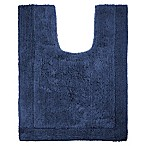 Wamsutta® Ultra Fine Reversible Contour Bath Rug in Denim Blue
