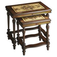 Butler Gregorio Rectangular Stone Nesting Tables (Set of 2)