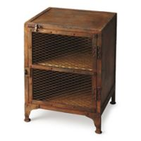 Butler Specialty Company Lucas Industrial Chic Chairside Chest