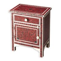 Butler Specialty Company Kayla Bone Inlay Chairside Chest