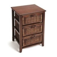 Butler Specialty Company Falmouth Rattan Chairside Chest