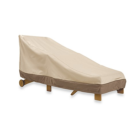 Classic accessories veranda chaise lounge cover bed for Chaise lounge accessories
