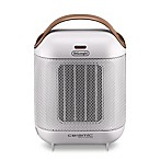 De'Longhi Capsule Compact Ceramic Heater in White