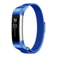 Fitbit® Alta™/Alta HR™ Milanese Loop Band in Blue/Stainless Steel